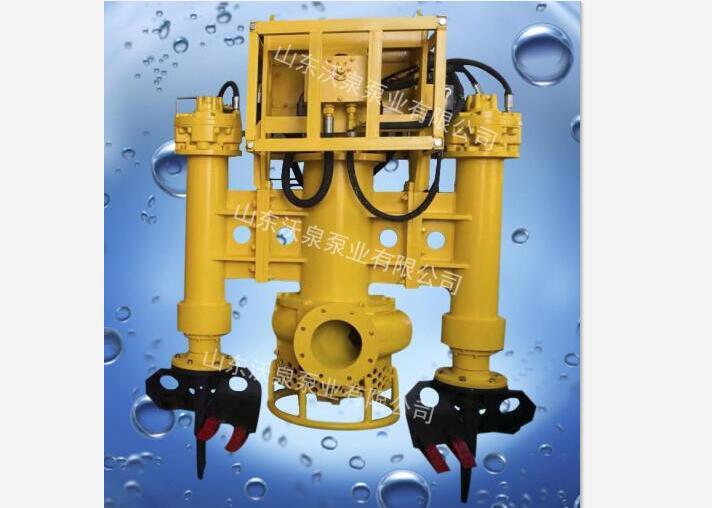 高浓度挖掘机抽沙泵 河道抽泥泵 挖掘机清淤泵